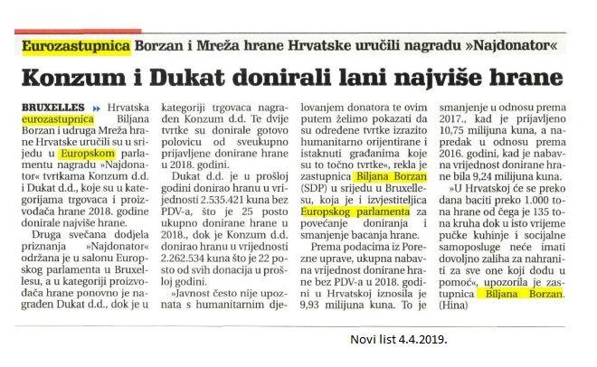 Novi list 4.4.2019.